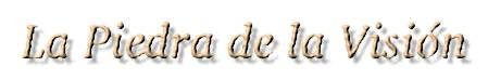 El Logo De la Piedra De la Visión