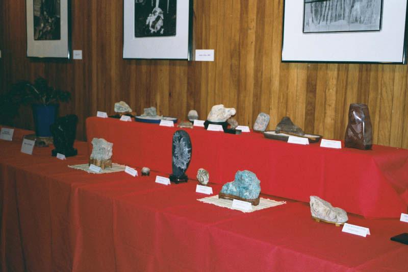 Exhibición De Suiseki